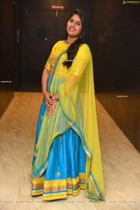 Sonia Chowdary at Utthara Movie Pre-Release