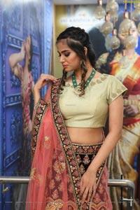 Vaishnavi Rao at Sri Krishna Silks Exclusive Weaves