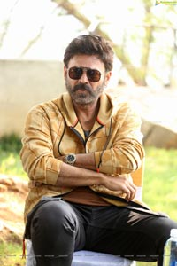 Venkatesh at Venky Mama Interview