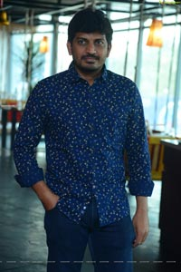 Sridhar Srimanthula at Kalakarudu Movie Interview