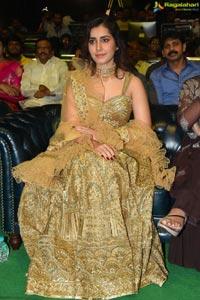 Raashi Khanna at Venky Mama Pre-Release