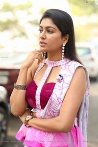 Akshatha Srinivas at Gandharwa Movie Opening
