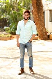 Anurag at Radha Krishna Movie Trailer Launch