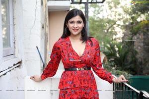 Mannara Chopra at Hi Life Exhibition Curtain Raiser