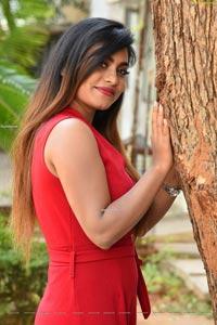Priyanka Augustin at Super Power Movie Trailer Launch