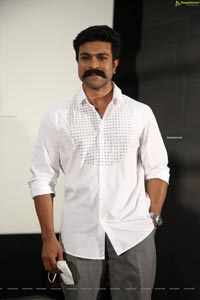 Ram Charan at Shoot-out at Alair Press Meet