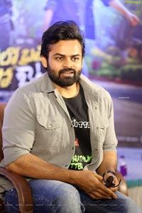 Sai Dharam Tej at Solo Brathuke So Better Interview