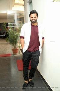 Sai Dharam Tej at Solo Brathuke So Better Movie Thanks Meet