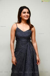 Samantha Akkineni at Zombie Reddy Teaser Launch