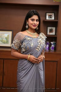 Shravani Varma at Sutraa Fashion Exhibition Curtain Raiser