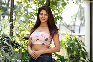 Kashish Singh In Spaghetti Strap Crop Top and Jeans
