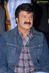 Balakrishna in Checks Shirt