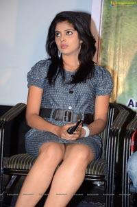Heroine Sravya @ Bhadram Audio Launch