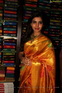 Samantha in Pattu Saree
