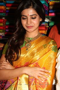 Samantha in Pattu Saree