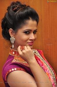 Shilpa Chakraborty in Saree
