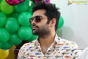 Ram Pothineni at Kydz Hangout Game Zone Launch