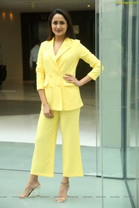 Pragya Jaiswal Yellow Dress