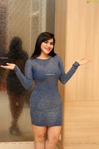 Ashu Reddy at Aha Media OTT Platform Launch