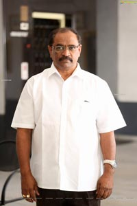 Producer AVR Swamy at Raahu Interview