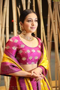Catherine Tresa at World famous Lover Pre-Release