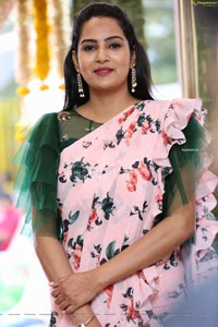 Himaja at Alankar Makeup Studio