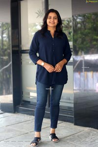 Indraja at Sumanth Ashwin's New Film Muhurat