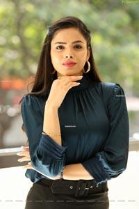 Kriti Garg at Rahu Movie Interview