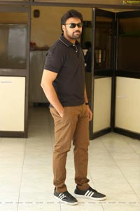 Laksh Chadalavada at Valayam Interview
