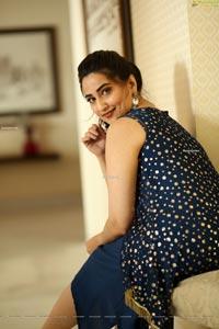 Manjusha at 22 Movie Press Meet