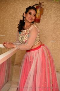 Manjusha at Pressure Cooker Pre-Release Event