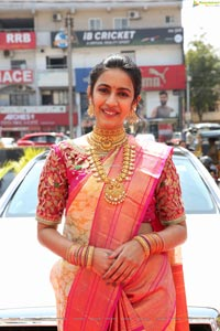 Niharika Konidela at Manepally Jewellers Silverware Section