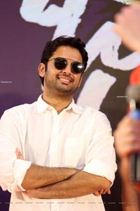 Nithiin at Bheeshma Success Meet