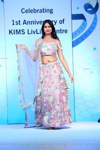 Priya Chauhan at KIMS LivLife Centre Anniversary