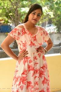 Priyansha Dubey at Hello Madam First Look Launch