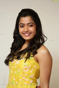 Rashmika Mandanna at Bheeshma Release Interview