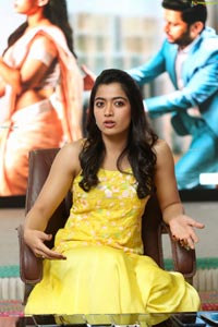 Rashmika Mandanna at Bheeshma Release Interview
