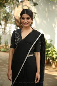 Samantha Akkineni at Jaanu Interview