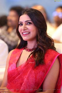 Samantha Akkineni at Jaanu Pre-Release Event