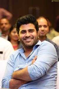 Sharwanand at Jaanu Thank You Meet