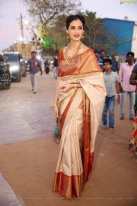 Shilpa Reddy at Gudi Sambaralu at Dharampuri Kshetram