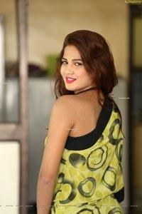 Sravani Nikki at Life Anubhavinchu Raja Success Meet