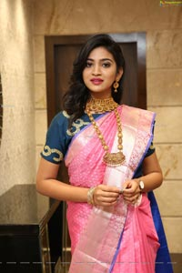 Vakshika Latha at Manepally Jewellers Silverware Section