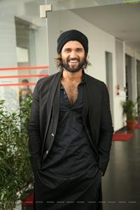 Vijay Deverakonda at World Famous Lover Interview