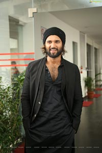 Vijay Deverakonda at World Famous Lover Interview