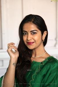 Avika Gor at Krishi Creations New Movie Pooja Ceremony