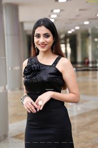 Dimple Thakur Front Slit Bodycon Dress