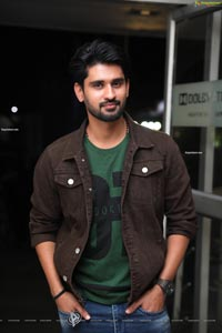 Dinesh Tej at Playback Pre-Release Event