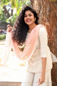 Faria Abdullah at Jathi Ratnalu Movie Press Meet