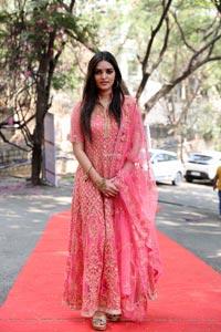 Heena Rai at GTA Movie Pooja Ceremony